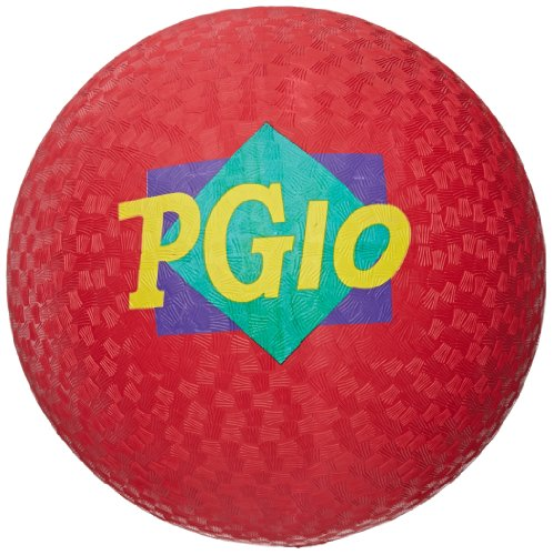 School Smart Playground Ball - 10 inch - Red - 1