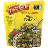 Tasty Bite Aloo Palak Heat and Eat Entree, 10 Ounce
