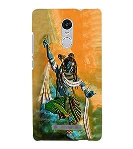 Lord Shiva 3D Hard Polycarbonate Designer Back Case Cover for Xiaomi Redmi Note 3 :: Xiaomi Redmi Note 3 (3rd Gen)