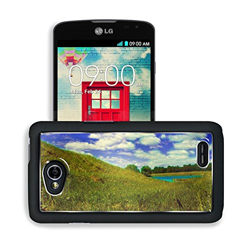 Wilderness Outdoor Grass Fields Cloudy Lg Optimus L70 Dual D325 Snap Cover Premium Aluminium Design Back Plate Case Open Ports Customized Made To Order Support Ready 5 2/16 Inch (130Mm) X 2 12/16 Inch (70Mm) X 11/16 Inch (17Mm) Msd L70 Professional Cases