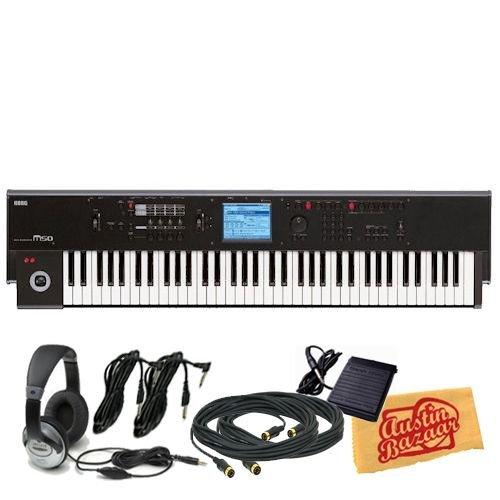 Synthesizers Workstations Online: Korg M50 88-Key
