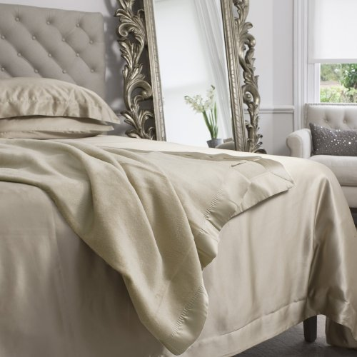 Pure Mulberry Silk Blanket / Throw Single (180 x 230cm) - Taupe