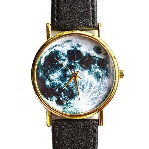 full-moon-space-uomini-donne-moda-in-pelle-orologio-analogico