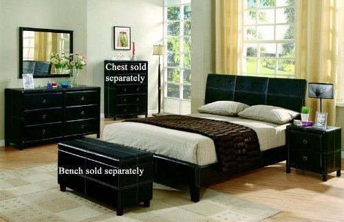Black Bedroom Furniture Sets 4250 front