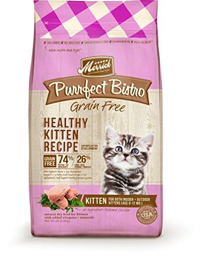 Merrick Purrfect Bistro Grain Free Healthy Kitten Recipe