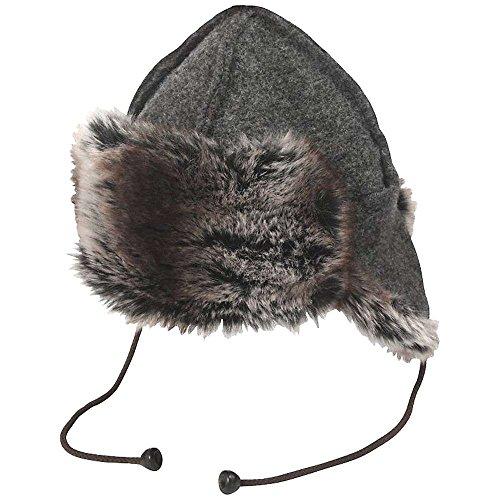 66 Degrees North Unisex Adult Kaldi Artic Hat (Grey, 1)