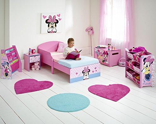 Worlds Apart 865271 Lit Bambin Minnie Disney Bois MDF Rose 142 x 77 x 59 cm