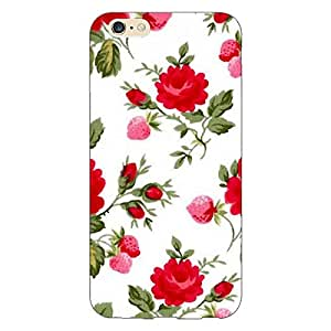 Jugaaduu Floral Pattern Back Cover Case For Apple iPhone 6 Plus