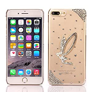 iPhone 7 Case,IC ICLOVER [SHINY Series] [Extreme Luxury] [Bling Diamond] Hard PC Crystal Glitter Case Cover For iPhone 7,4.7 inch,Angel