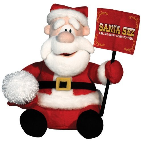 Animated-Fortune-Telling-Santa-Sez-Plush-Toy-Claus-Christmas-Hilarious-Fun-Stuffed