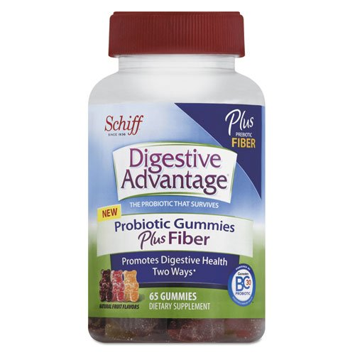 Digestive Advantage® Probiotic Gummies Plus Fiber, Natural Fruit Flavors, 65 Count (Dva18361) Category: First Aid Kits