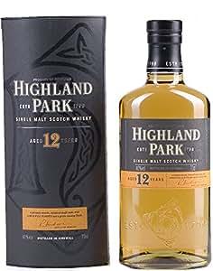 Highland Park 12 Year Old Orkney Malt Whisky Bottle 70 cl