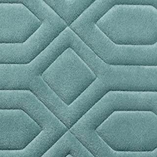 Bounce Comfort Extra Thick Memory Foam Bath Mat - Turtle Shell Premium Micro Plush Mat with BounceComfort Technology, 20 x 32 in. Marine Blue