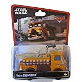 Disney Star Wars Pixar Cars Series 2 Red The Fire Engine As Chewbacca 1/55 Die-Cast - Theme Park Exc