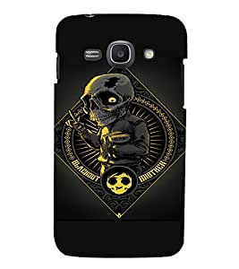 EPICCASE Creepy school boy Mobile Back Case Cover For Samsung Galaxy Ace 3 (Designer Case)