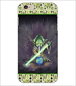 PrintDhaba Cartoon D-3624 Back Case Cover for APPLE IPHONE 6S (Multi-Coloured)