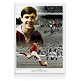 Barry John Signed Wales Rugby Photo