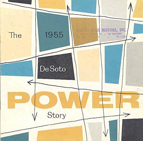 1955 Desoto Power Sales Brochure