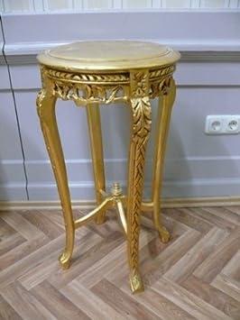 beistelltisch tisch rund antik stil barock alta0332gofs da305. Black Bedroom Furniture Sets. Home Design Ideas