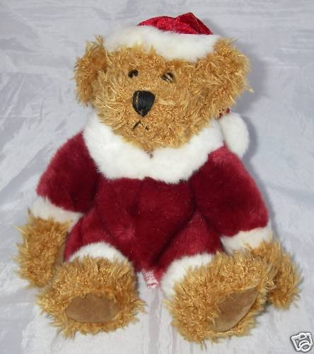 "Russ ""Kris"" Chirstmas Plush Bear (7"") - 1"