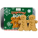 Gingerbread Boy Cookie Gift Tin