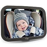 Twiggi Baby Spiegel fürs Auto - Autospiegel fürs Baby, splitterfrei, groß