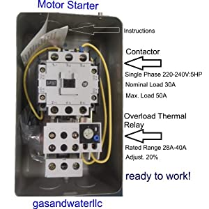New Magnetic Motor Starter
