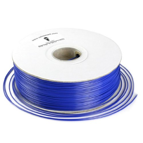SainSmart 1.75mm ABS Filament 1kg/2.2lb blue for 3D Printers Reprap, MakerBot Replicator 2, Afinia, Solidoodle 2, Printrbot LC, MakerGear M2 and UP!(Afinia H-Series)