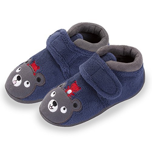 chaussons-bottillons-velcro-enfant-micro-eponge-motifs-brodes-isotoner-21