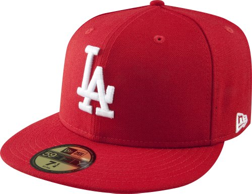 New Era Cap Co. Boys Los Angeles Dodgers Fitted Cap