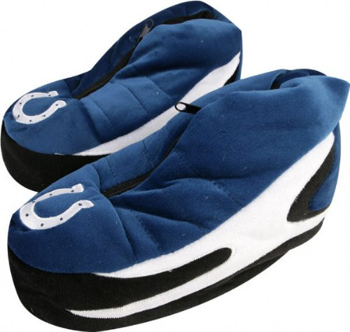 Cheap Indianapolis Colts Zipper Cleat Slipper (B0012QSSS2)