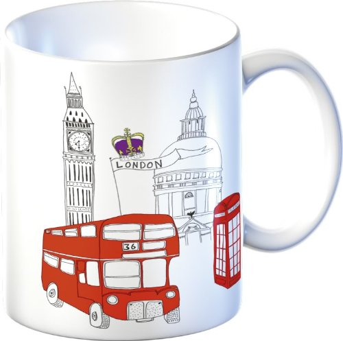 London Bus Mug
