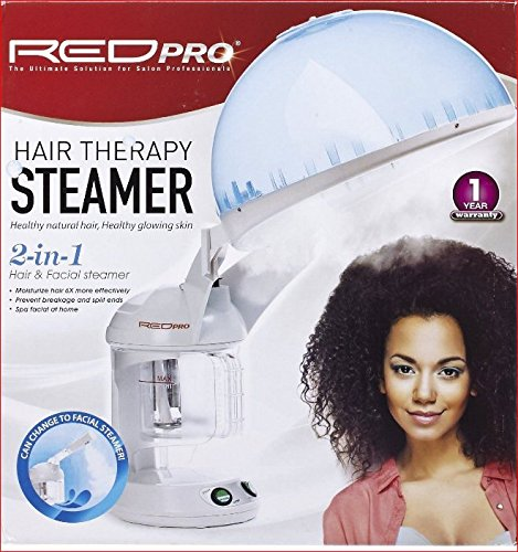 Red Pro Hair Therapy Steamer 2-in-1 Hair & Facial Steamer (Facial And Hair Steamer compare prices)