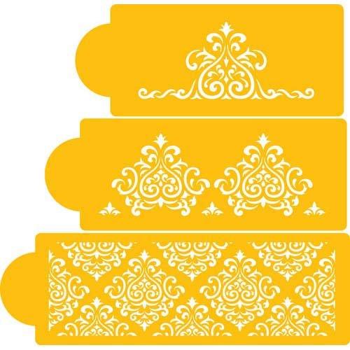 Cake Stencil Designs To Print : Printable Stencil Designs