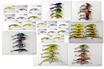 Wholesale/Bulk Lot of 51 New Born-To-Fish Crankbait Fishing Lures Holiday Gift pack