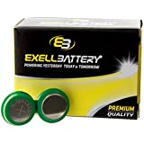 Exell Headset Battery TV EARS 5.0 Rechargeable NiMH Battery FAST USA SHIP