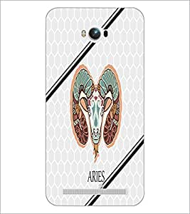 PrintDhaba Zodiac Aries D-4796 Back Case Cover for ASUS ZENFONE MAX ZC550KL (Multi-Coloured)