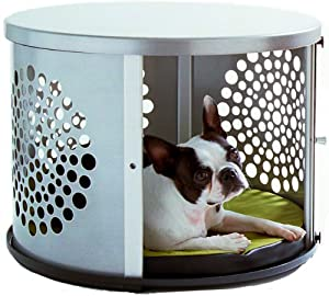 cool end table dog crate furniture | Amazon.com : DenHaus BowHaus Indoor Pet House and End ...