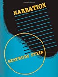 Narration: Four Lectures (0226771547) by Stein, Gertrude