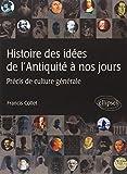 echange, troc Francis Collet - Histoire des idées de l'Antiquité à nos jours  Précis de culture générale