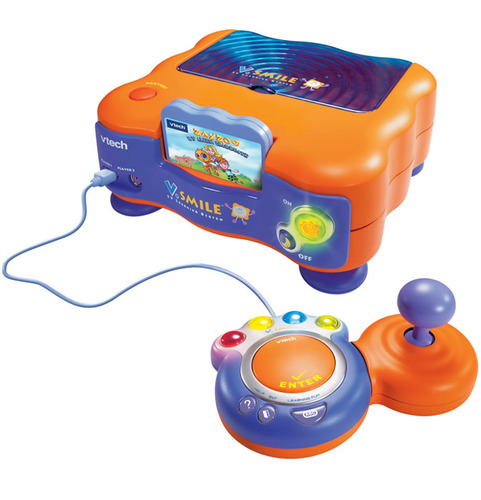 how to connect vtech v smile to tv
