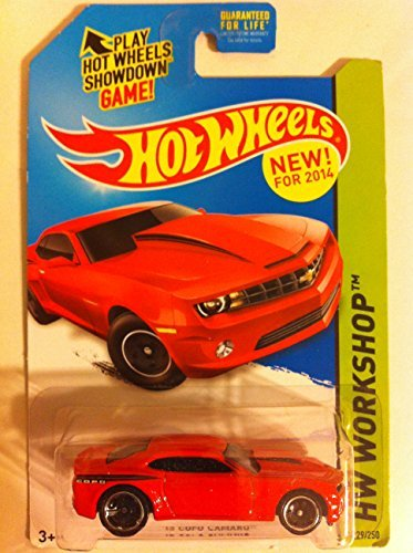 2014 Hot Wheels Hw Workshop - '13 Copo Camaro - Red - 1