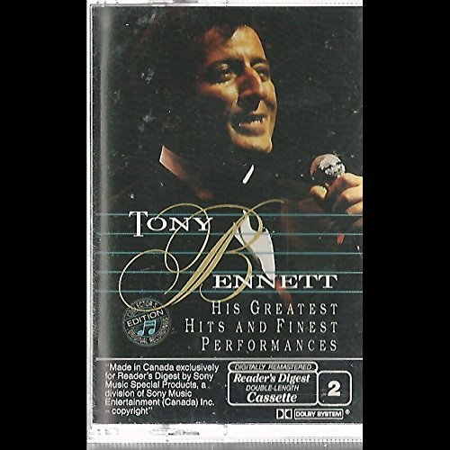TONY BENNETT - Tony Bennett His Greatest Hits and Finest Performances - Zortam Music