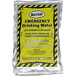 Mayday Industries Case of 100 Mayday Pouch Water