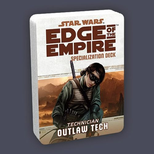 Fantasy Flight Games USWE33 Star Wars Edge Of The Empire - Outlaw Tech Deck Card Game - 1