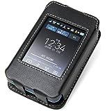 PDAIR レザーケース for Wi-Fi STATION L-01G スリーブタイプ (ブラック) PALCL01GS/BL