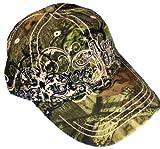 Mossy Oak Ladies Camo Cap with Logo Woman's Mossy Oak Hat with Pink Trim