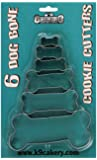 K9Cakery 6 Bone Shaped Cookie Cutters