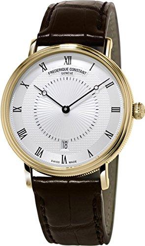 Frederique Constant Geneve Slimline Classics FC-306MC4S35 Automatic Mens Watch Flat & light