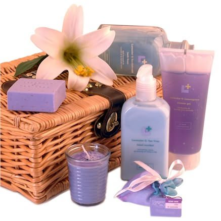 Just lavender gift basket - pamper hampers & gifts for women